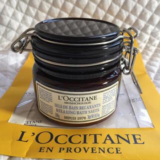 ロクシタン(L'OCCITANE)の新品4104円 ロクシタン PAリラクシングバスソルト (入浴剤/バスソルト)