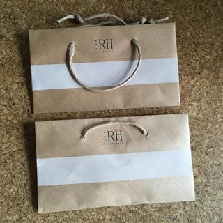 ロンハーマン(Ron Herman)のロンハーマン紙袋小2枚組(ショップ袋)