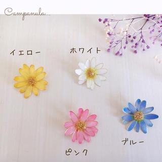 デイジーと春の香り     オーダー作品見本(ピアス)