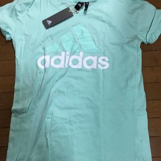 アディダス(adidas)のadidas アディダス Tシャツ スポーツウェア 未使用 OT 薄いグリーン(その他)