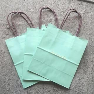 アフタヌーンティー(AfternoonTea)の新品♡アフタヌーンティ 紙袋 3枚セット ショッパー ショップ袋 袋(ショップ袋)