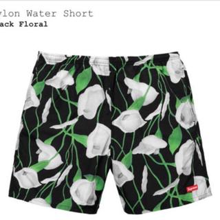 シュプリーム(Supreme)のSupreme Nylon Water Short Black Floral(水着)