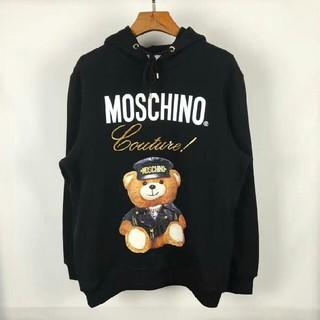 モスキーノ(MOSCHINO)の大人気♥MOSCHINO モスキーノ 長袖 男女兼用 (パーカー)