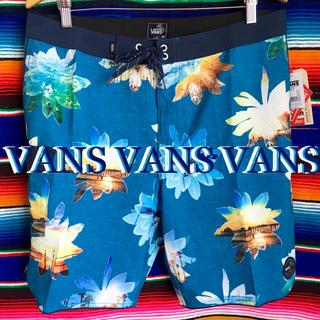 ヴァンズ(VANS)のVANSバンズUSA限定SURFトランクスmiamiフォト34インチ90cm(水着)