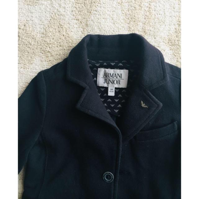 outlet store 273ed ab6a5 アルマーニジュニア ジャケット コットン 2歳 ネイビー アルマーニJr.