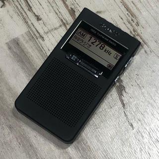 ソニー(SONY)の☆美品☆ SONY ワンセグ TV音声受信ポケットラジオ XDR-64TV(ラジオ)