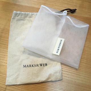 マークスアンドウェブ(MARKS&WEB)の未使用 マークスアンドウェブ ブランド巾着 ソープネット(その他)