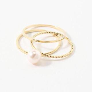 フィービィー(phoebe)のphoebe♡3mix ring(リング(指輪))
