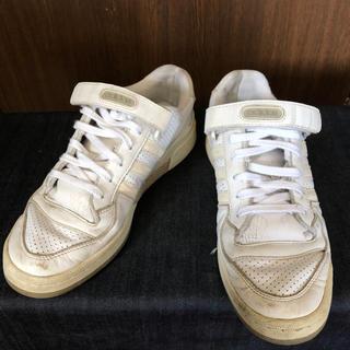アディダス(adidas)のアディダスadidasフォーラムLo白29センチUS11(スニーカー)
