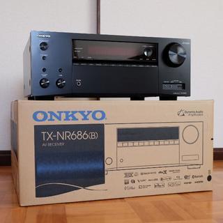 オンキヨー(ONKYO)のONKYO AVアンプ TX-NR686(アンプ)