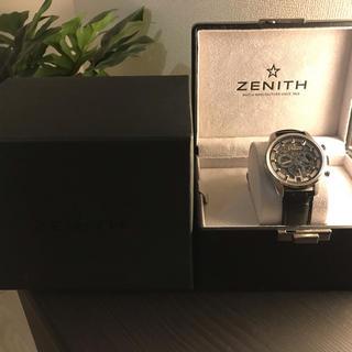 ゼニス(ZENITH)の専用(腕時計(アナログ))