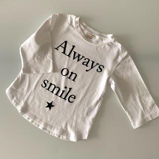 プティマイン(petit main)のプティマイン 七分袖Tシャツ  110 ロゴT(Tシャツ/カットソー)