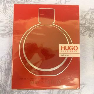 ヒューゴボス(HUGO BOSS)の【新品未開封】HUGO BOSS WOMAN ヒューゴ ウーマン 50ml (香水(女性用))