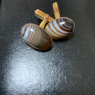 オパール 金 カフスボタン (カフリンクス)