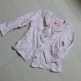ビケット(Biquette)のビケット 柔らかピンクシャツ(Tシャツ/カットソー)