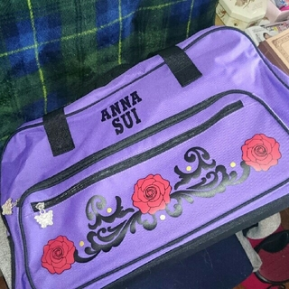 アナスイ(ANNA SUI)のアナスイのキャスター付きボストン♪(スーツケース/キャリーバッグ)