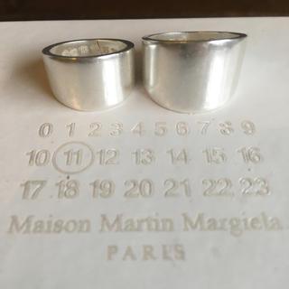 マルタンマルジェラ(Maison Martin Margiela)のマルジェラ 2連リング 指輪 Maison Martin Margiela(リング(指輪))