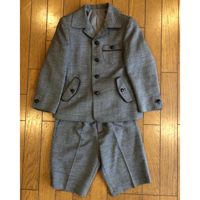 347737dd82d05 COMME CA ISM - 子供乳児 フォーマル 入学式 スーツ 半ズボン 5点セット ...