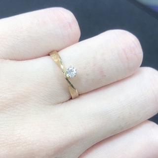 ヨンドシー(4℃)のitani ダイヤリング5.5号(リング(指輪))
