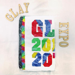 GLAY EXPO 2014 20th ANNIV フェイスタオル(ミュージシャン)