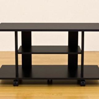 219 新品 ブラック テレビ台 台 家具 インテリア  (ダイニングテーブル)