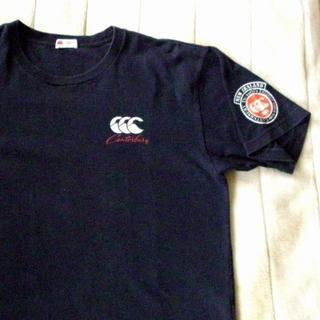 カンタベリー(CANTERBURY)のカンタベリー 紺 Tシャツ L【中古】(ラグビー)
