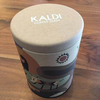 カルディ(KALDI)のKALDI 伝説柄 キャニスター(容器)