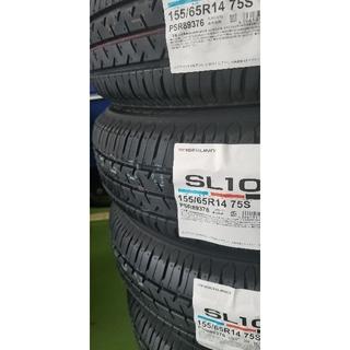 ブリヂストン(BRIDGESTONE)のブリヂストン セイバーリング155/65R14 新品4本1セット(タイヤ)