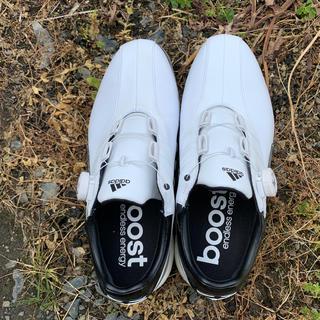アディダス(adidas)のアディダスブーストゴルフシューズ(シューズ)