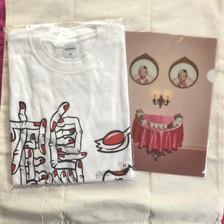 野性爆弾くっきーTシャツ&クリアファイル(お笑い芸人)