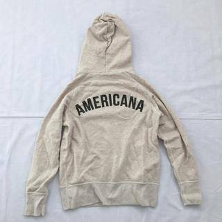 アメリカーナ(AMERICANA)の【リーちゃん様専用】Americana フードパーカー(パーカー)