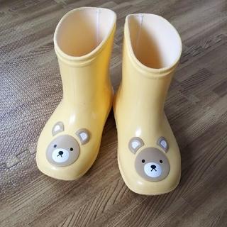 るっつさま専用  長靴 くま 日本製(長靴/レインシューズ)