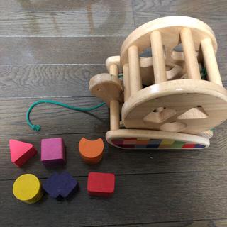 ボーネルンド(BorneLund)のボーネルンド 型はめおもちゃ bajo sortroller  (積み木/ブロック)