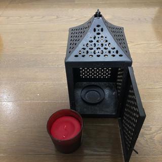 イケア(IKEA)のキャンドルスタンド キャンドルセット(アロマ/キャンドル)