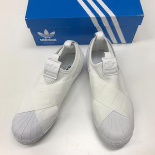 アディダス(adidas)のadidas 白 SUPER STAR アディダス スーパースター スリッポン(スニーカー)
