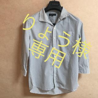 ハイダウェイ(HIDEAWAY)のりょう様専用☆HIDE AWAYS ☆メンズシャツ☆ 七分袖☆(シャツ)
