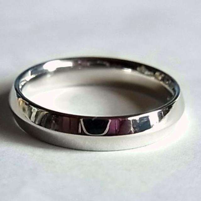 Tiffany & Co.(ティファニー)の美品 Tiffany&Co. ティファニーpt950リング指輪20号プラチナ メンズのアクセサリー(リング(指輪))の商品写真