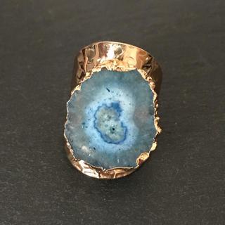 天然石 リング 指輪 ナイルブルーA(リング(指輪))