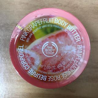 ザボディショップ(THE BODY SHOP)の【新品 未使用】ボディショップ ボディバター ピンクグレープフルーツ 50ml(ボディクリーム)