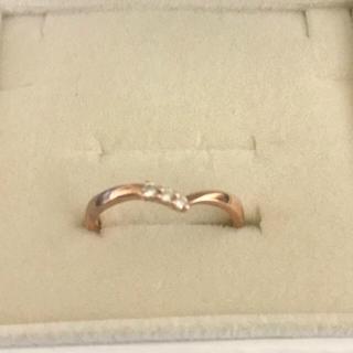 ヨンドシー(4℃)の4℃  指輪  ピンクゴールド(リング(指輪))