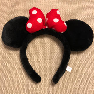 ディズニー(Disney)の Disney ミニー カチューシャ ♡美品(キャラクターグッズ)
