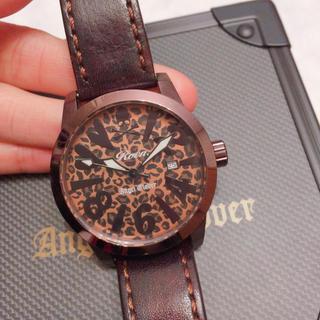 ロエン(Roen)のRoen 豹柄 腕時計 動作確認済み(腕時計)