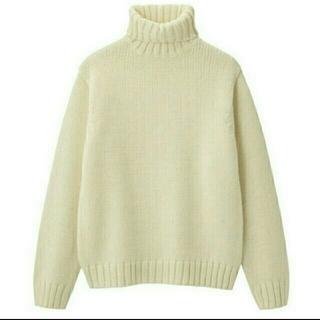 ジーユー(GU)のローゲージタートルネックセーター(ニット/セーター)
