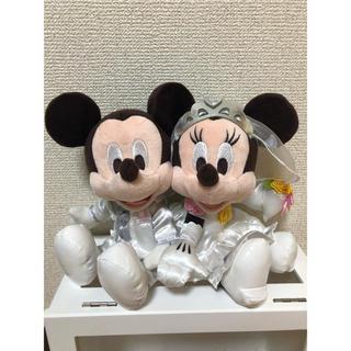 ディズニー(Disney)のDisney ディズニー 結婚式 飾り ミッキー ミニー(ウェルカムボード)