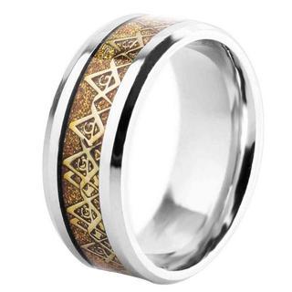 フリーメイソン 指輪 リング 秘密結社 都市伝説 で 話題 (リング(指輪))