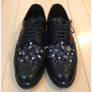 ドルチェアンドガッバーナ(DOLCE&GABBANA)のDOLCE&GABBANAの革靴(ローファー/革靴)