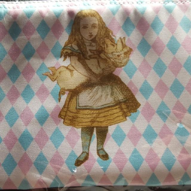 不思議の国のアリス展フラットポーチ エンタメ/ホビーのおもちゃ/ぬいぐるみ(キャラクターグッズ)の商品写真