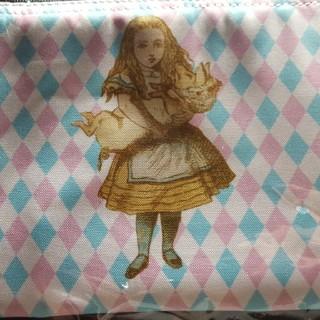 不思議の国のアリス展フラットポーチ(キャラクターグッズ)