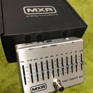 MXR ten band eq(ベースエフェクター)