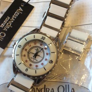 アレッサンドラオーラ(ALESSANdRA OLLA)のAlessandra OLLA定価8万8千円 超美品 腕時計(腕時計)